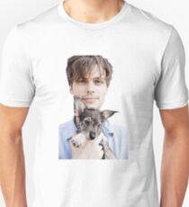 Matthew Gray Gubler Holding Puppy Unisex T-Shirt