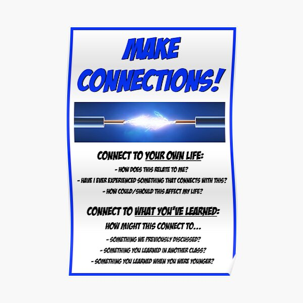 Make Connections! Poster