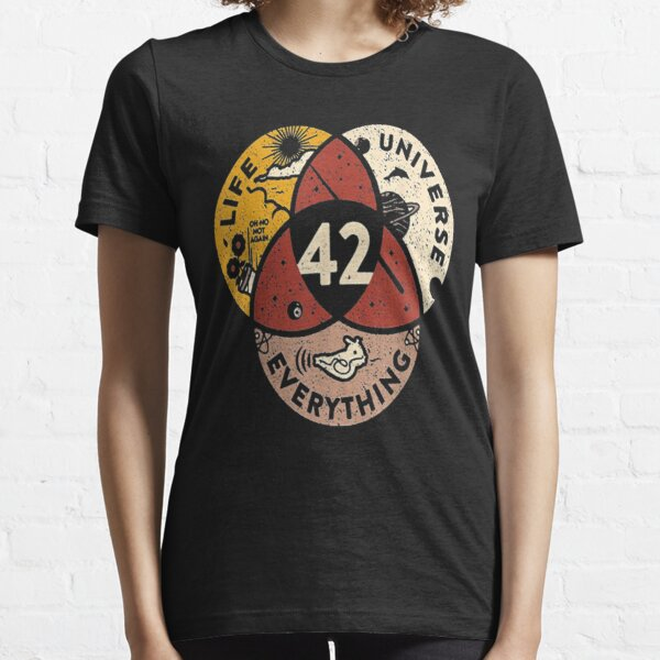 42 Answer to Life Universe and Everything T-Shirt Essential T-Shirt