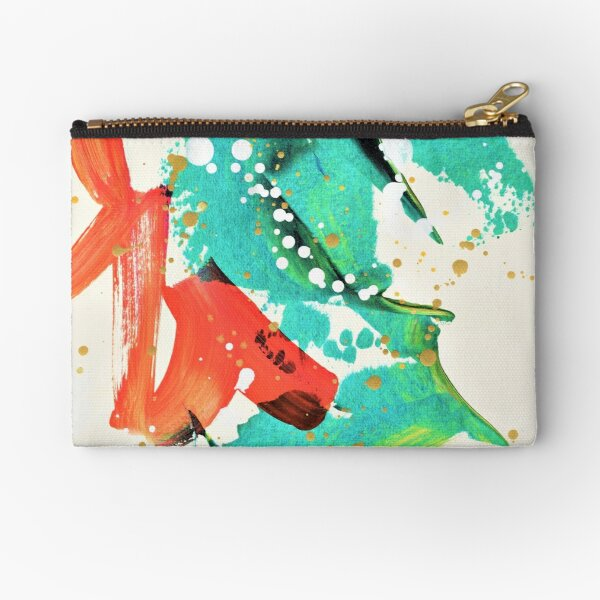 Ocean Roar Zipper Pouch