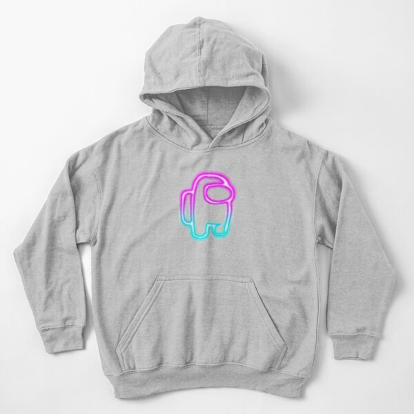 Among us super game Kids Pullover Hoodie