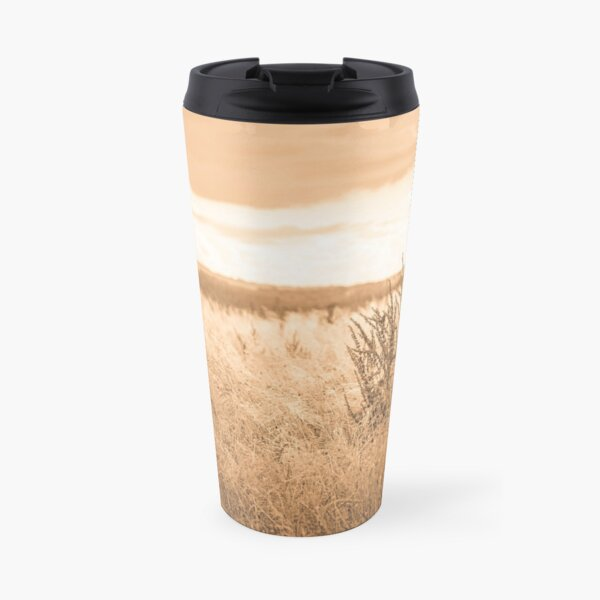 Paysage sépia et plantes séchés Mug isotherme