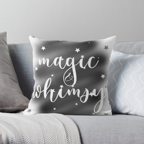 Magic & Whimsy Throw Pillow