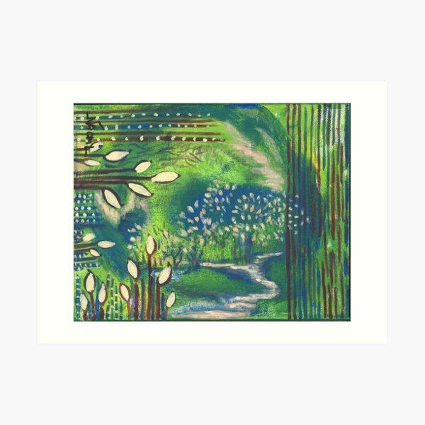 Nature and Energy Art Print