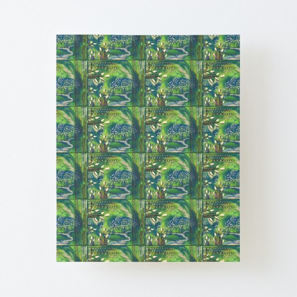 Nature and Energy Canvas Mounted Print