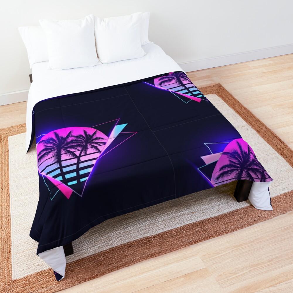 Retrowave 2 Comforter