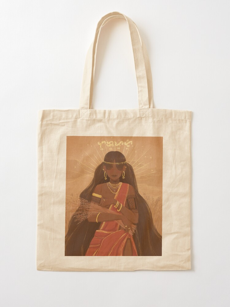 Alternate view of Lakapati | Hermaphrodite Goddess of Fertility and Agriculture Tote Bag