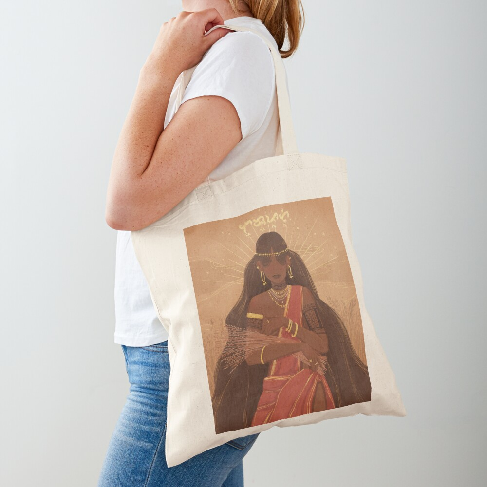 Lakapati | Hermaphrodite Goddess of Fertility and Agriculture Tote Bag