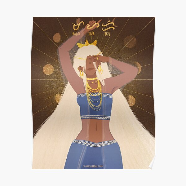 Mayari | Goddess of the Moon Poster