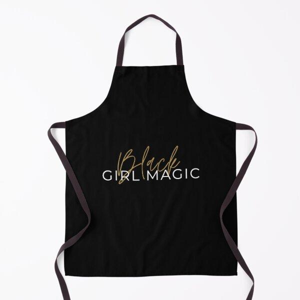 Black girl magic Apron