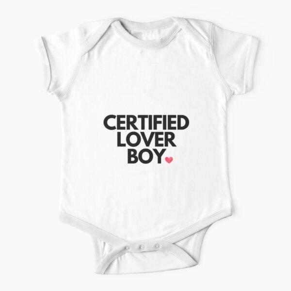 Certified lover boy Short Sleeve Baby One-Piece