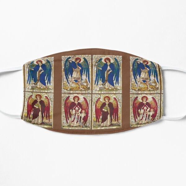 Archangels St Michael, St Gabriel, St Raphael, St Uriel Angel Catholic Saint Flat Mask