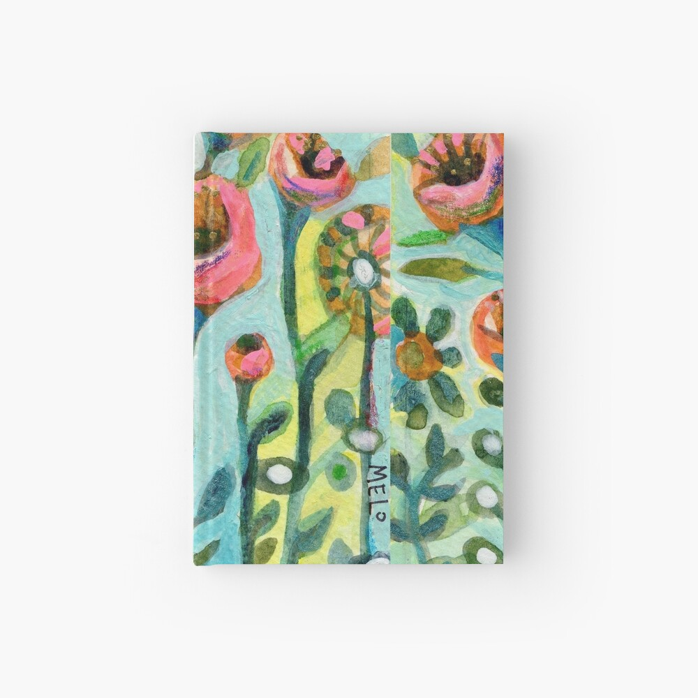 Tulips in the Garden Hardcover Journal