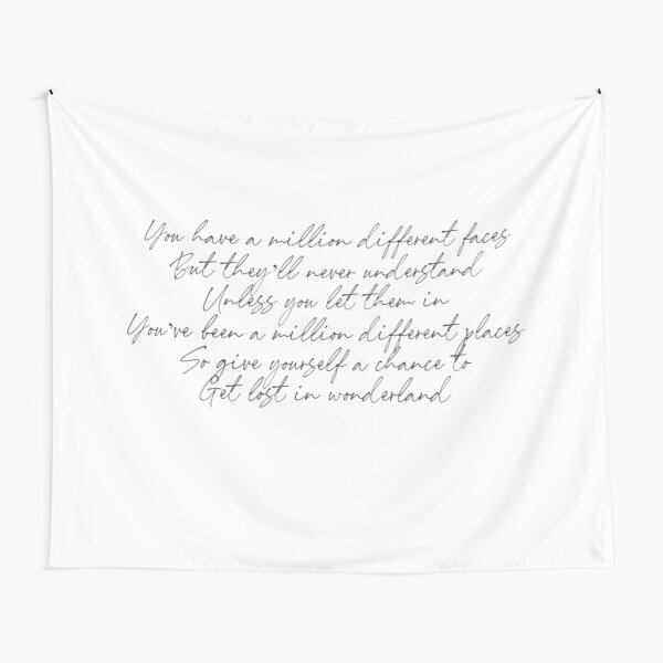 Intro to Wonder - Shawn Mendes Lyrics Tapestry