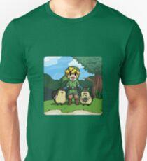 Legend of Zelda Skyward Sword: Link and Kikwis T-Shirt