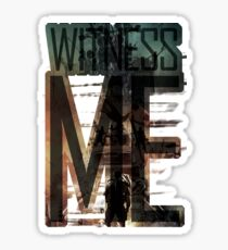 Witness me - Mad Max: Fury road Sticker