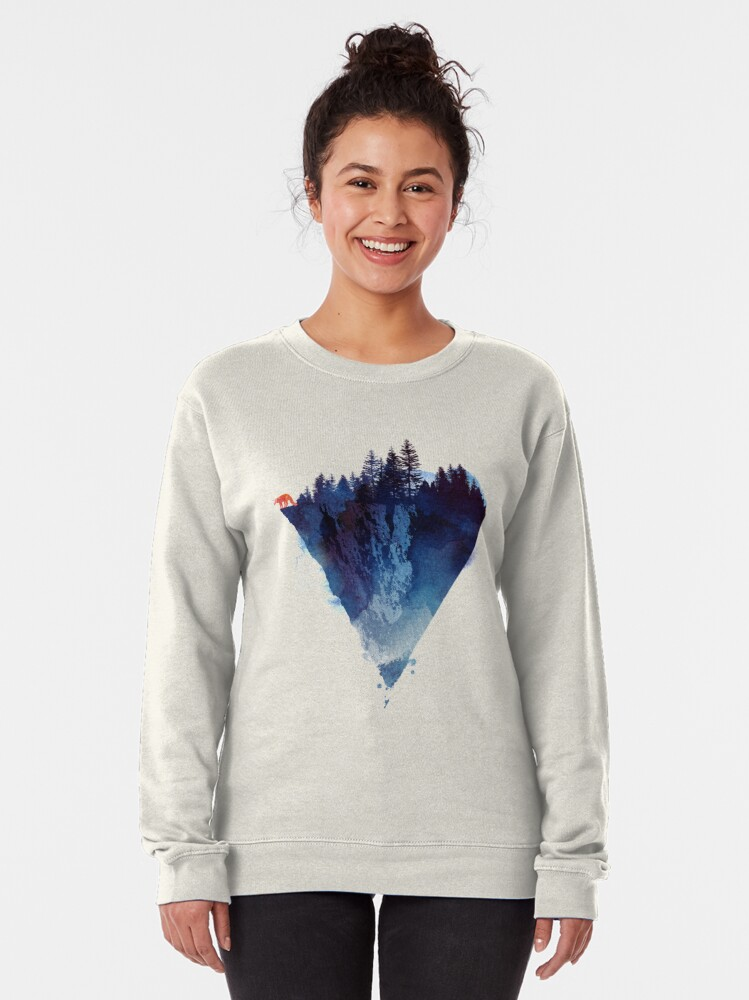 Alternate view of Near to the edge Pullover Sweatshirt