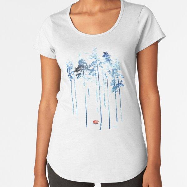 Sleeping in the woods Premium Scoop T-Shirt