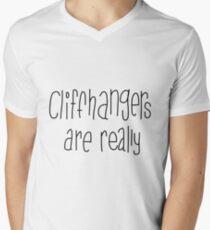 Cliffhangers Men's V-Neck T-Shirt