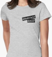 Armitage army Womens Fitted T-Shirt