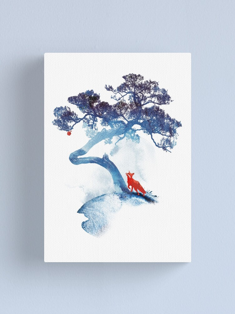 Alternate view of The last apple tree Canvas Print