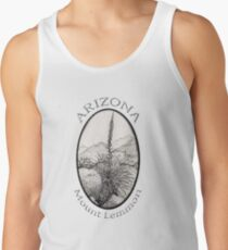 A Desert Scene North of Mount Lemmon, Arizona Tank Top