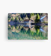 Lake Walchensee Reflections Canvas Print