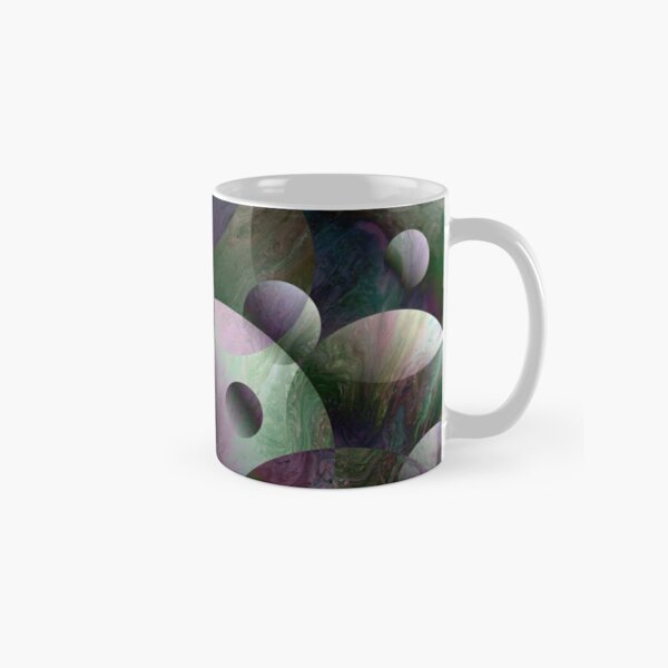 Orbs 3: round spheres abstract Classic Mug
