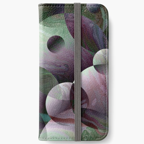 Orbs 3: round spheres abstract iPhone Wallet