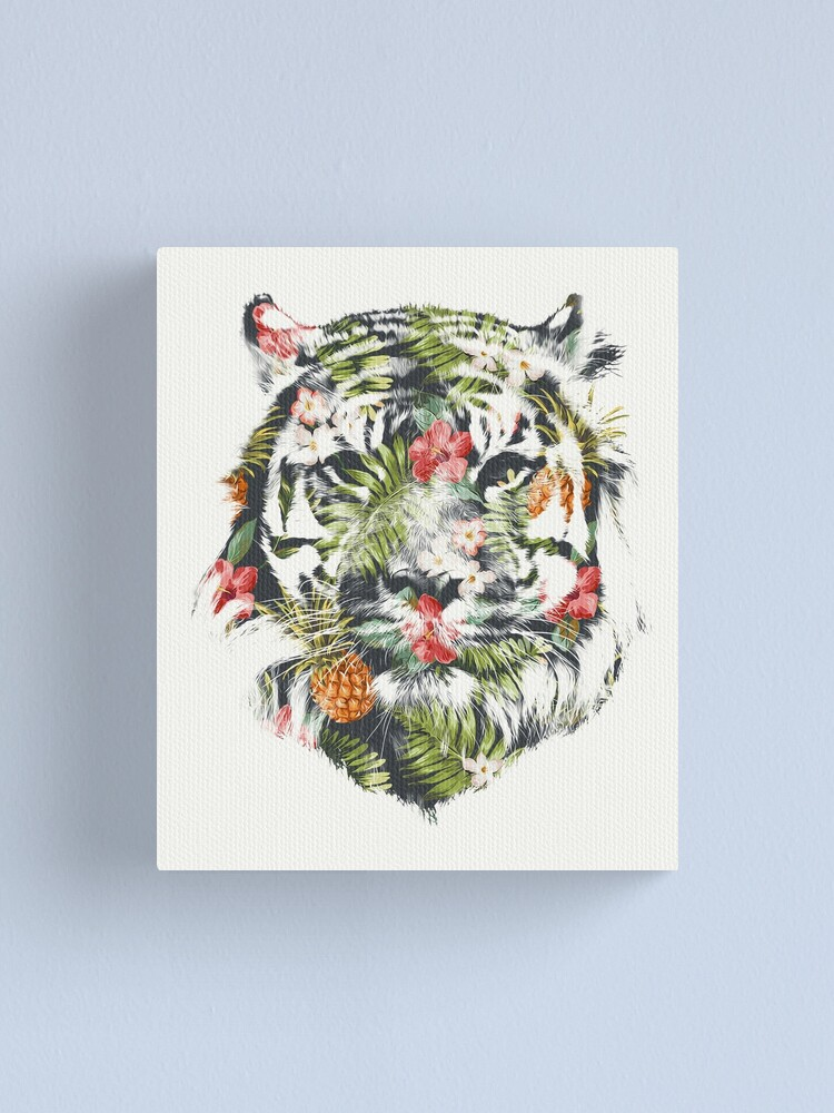 Alternate view of Tropical Tiger Canvas Print