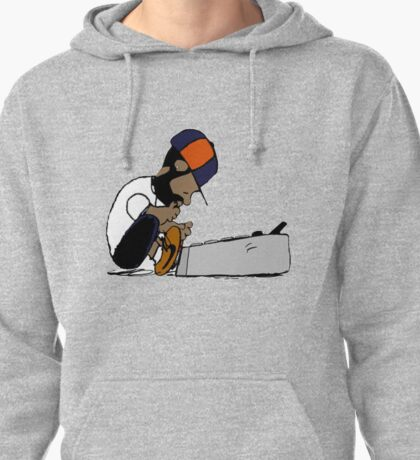 J Dilla Print 2 Pullover Hoodie