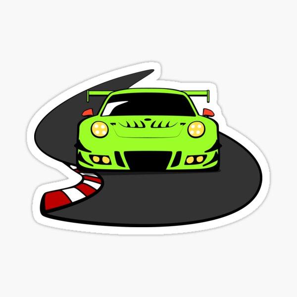 """Porsche 911 GT3 """"Grello Ringmeister"""" Sticker"""