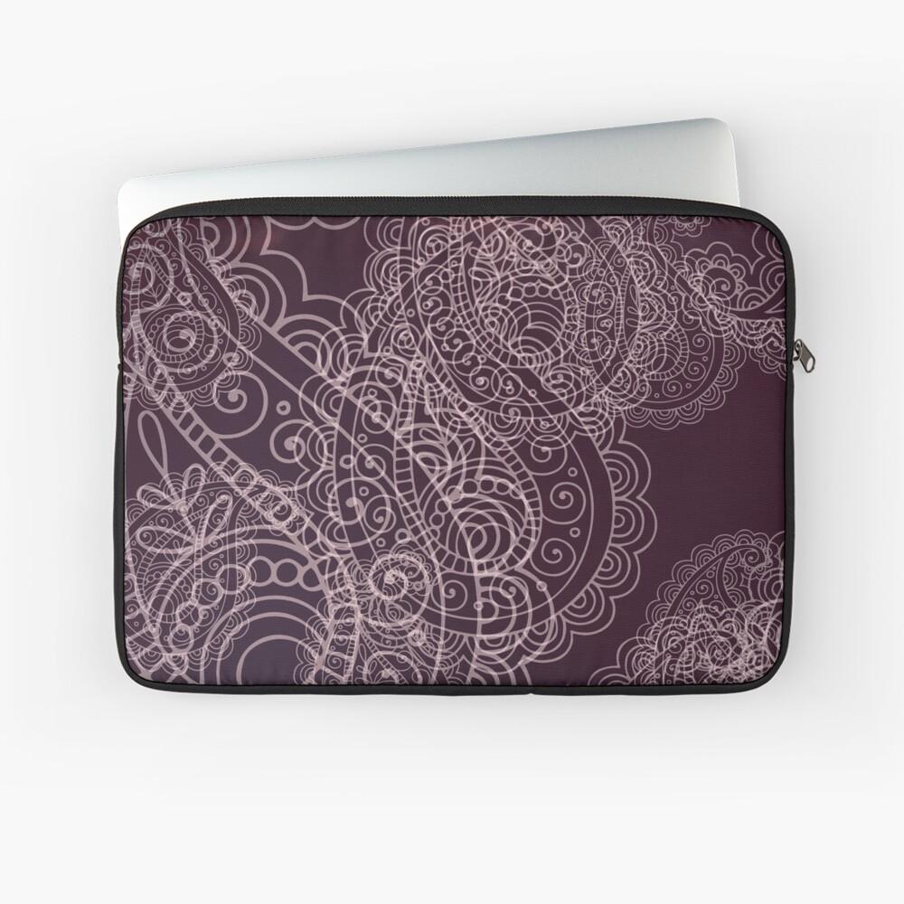 Classic dark purple Laptop Sleeve