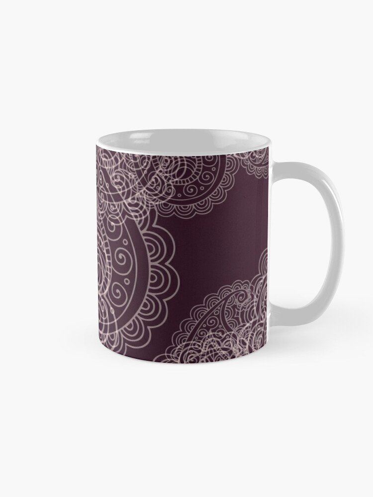 Alternate view of Classic dark purple Mug