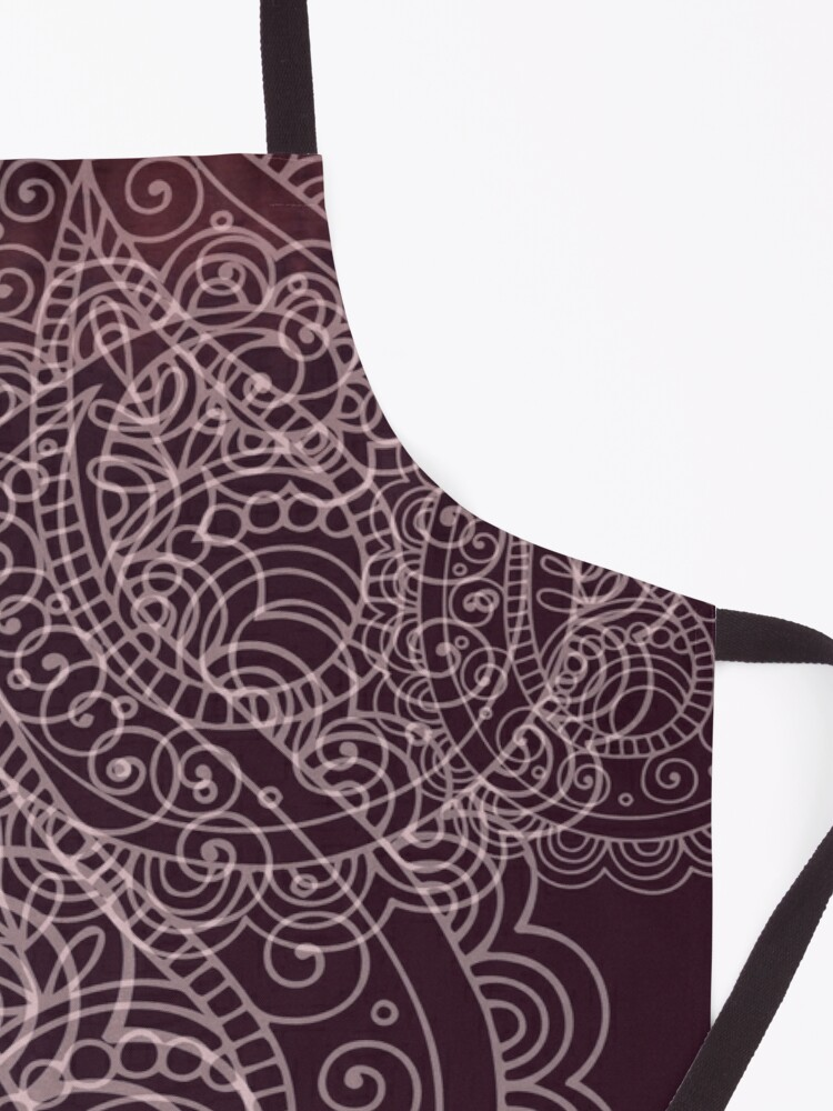 Alternate view of Classic dark purple Apron