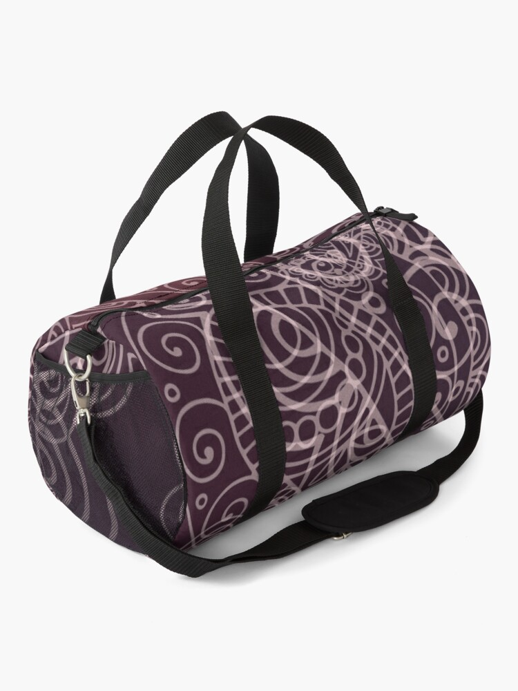 Alternate view of Classic dark purple Duffle Bag