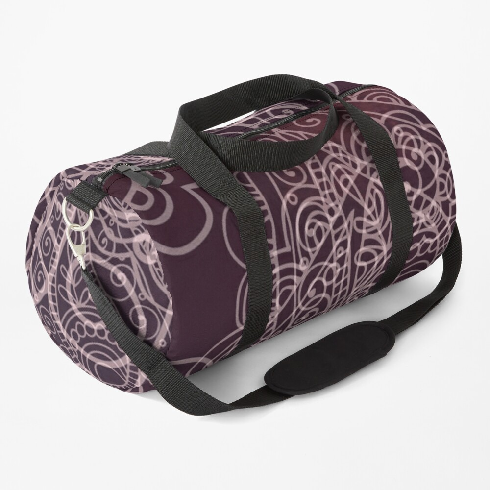 Classic dark purple Duffle Bag