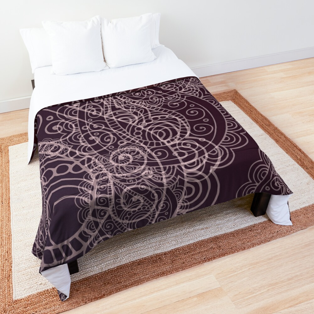 Classic dark purple Comforter