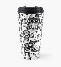 Doctor Who doodle Travel Mug