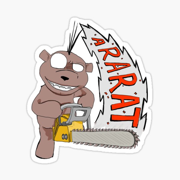 Psycho Ted - ARARAT Sticker