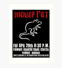 Mouse Rat - Concert Poster Art Print