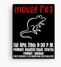 Mouse Rat - Concert Poster Canvas Print