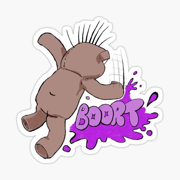 Psycho Ted - BOORT Sticker