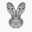 Bunny sketch by roxycolor