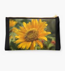 Yellow Bee Flower Studio Pouch
