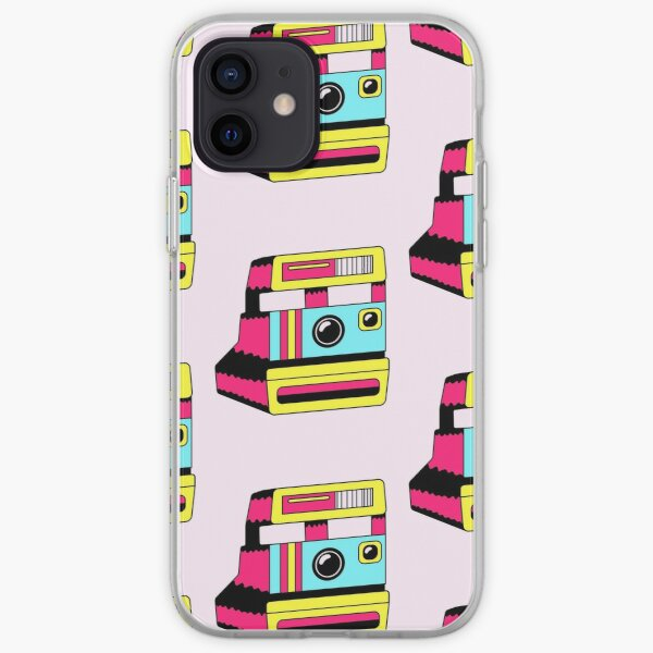 retro polaroid camera/ cute vintage 1950s camera/film/ T Shirt for Women Ladies Men Kids Teen Cool Vintage Graphic T Shirt 80s Retro T Shirt Cute Tee Novelty Candy Shirt psychedelic art trippy iPhone Soft Case