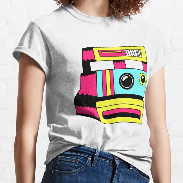 retro polaroid camera/ cute vintage 1950s camera/film/ T Shirt for Women Ladies Men Kids Teen Cool Vintage Graphic T Shirt 80s Retro T Shirt Cute Tee Novelty Candy Shirt psychedelic art trippy Classic T-Shirt