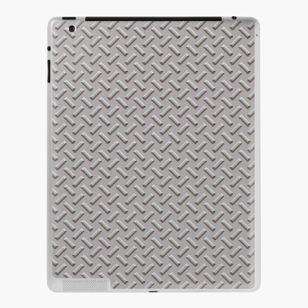 Textured Steel Chrome iPad Skin