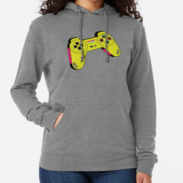 gamer ps3/ps4/ps5 playstation xbox controller/ video game/T Shirt for Women Ladies Men Kids Teen Cool Vintage Graphic T Shirt 80s Retro T Shirt Cute Tee Novelty Candy Shirt psychedelic art trippy Lightweight Hoodie