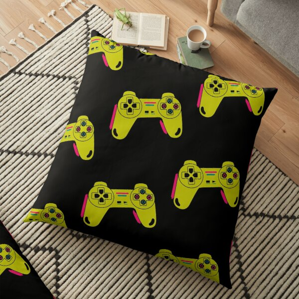 gamer ps3/ps4/ps5 playstation xbox controller/ video game/T Shirt for Women Ladies Men Kids Teen Cool Vintage Graphic T Shirt 80s Retro T Shirt Cute Tee Novelty Candy Shirt psychedelic art trippy Floor Pillow